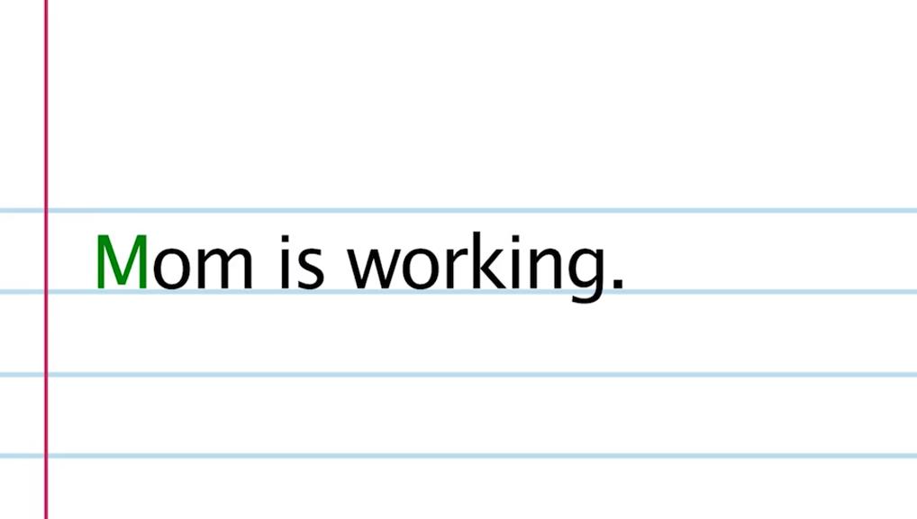الكتابة بأحرف استهلالية 1